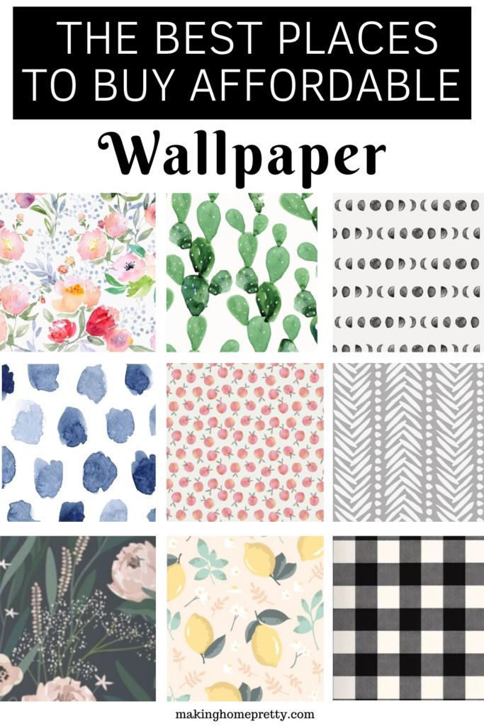 Best Places To Buy Cute And Affordable Wallpaper Making Home Pretty Affordable Wallpaper Peel And Stick Wallpaper Stick On Wallpaper