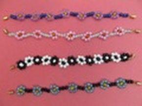 ▶ Cómo hacer una pulsera de ganchillo con bolitas | How to make a crochet bracelet - YouTube