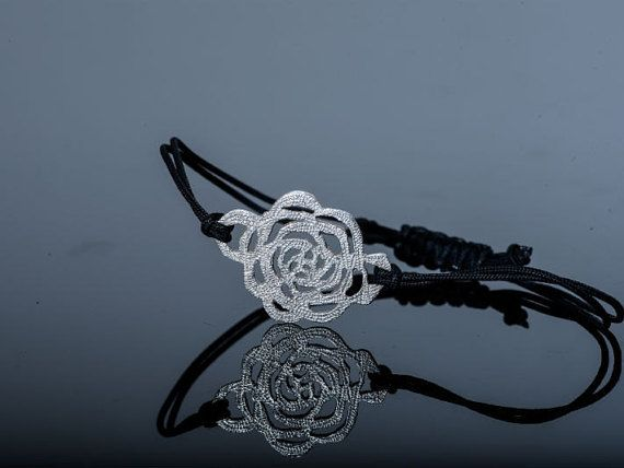 Rosebud Collection Bracelet by FallingFeatherNFN on Etsy