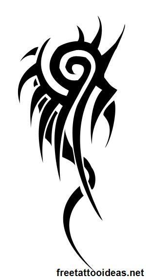 #ink - http://www.freetattooideas.net/category/tribal-tattoos/