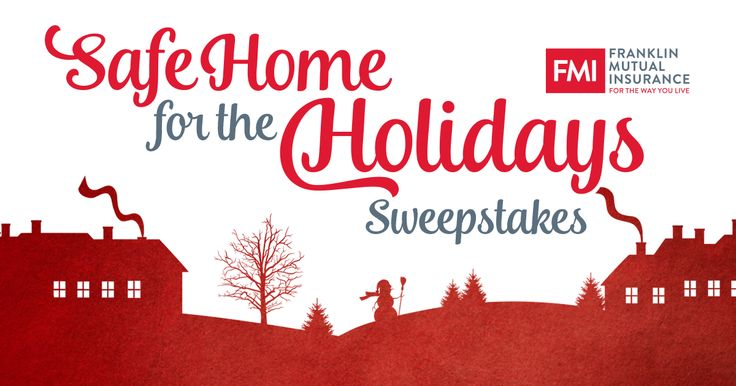 """We've created the FMI """"Safe Home for the Holidays"""" Sweepstakes to share how you can help prevent holiday disaster. Just take our quiz and you'll be entered to win a Samsung SmartThings Home Monitoring Kit and two Samsung SmartThings Water LeakSensor. You'll also be better prepared for a happier holiday season!"""