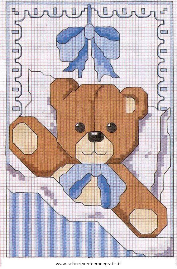 disegni_bambini_2_5 schema puntocroce gratuito