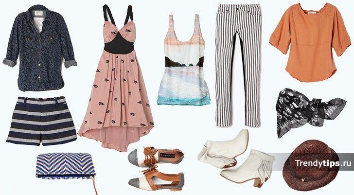 Капсульный гардероб: одежда для лета и отпуска. | TrendyTips