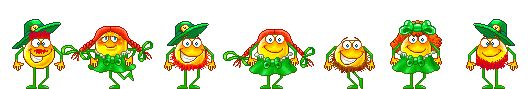 Happy St. Patrick's Day - dancing smiley gif
