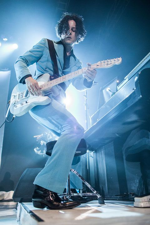 Jack White    Photo by David Andrako  05/22/12 - Roseland Ballroom