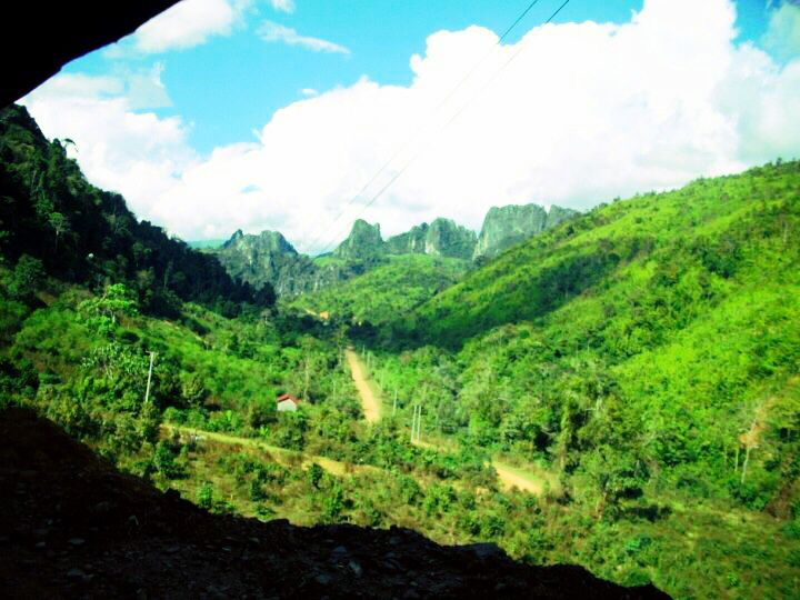 Laotian Mountains
