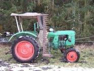 #Traktor mit Mähwerk www.ericclassen.de