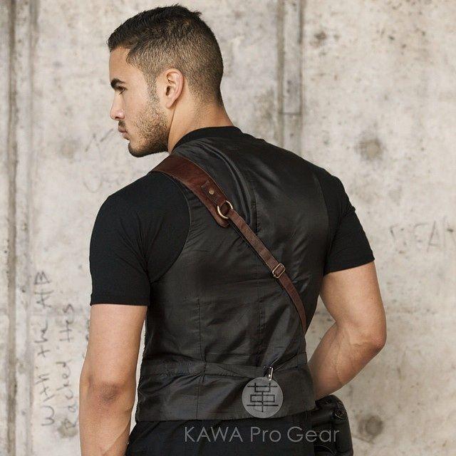 KAWA Pro Strap Lux Brown Genuine Leather Camera Strap