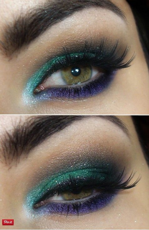 21 Colorful Makeup Tutorials for Women - Pretty Designs