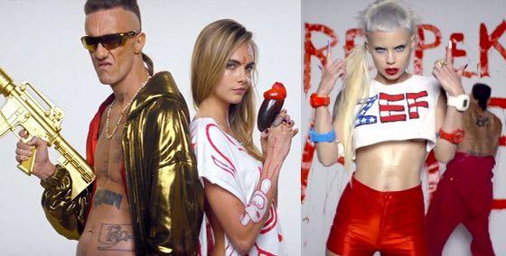 "#muisca - Nel video dei Die Atwoord, ""Ugly boy"" troviamo un cast stellare: Cara Delevingne, Charlotte Free, Marilyn Manson, Dita Von Teese, Jack Black e Flea. http://www.sfilate.it/237785/cast-stellare-per-lultimo-video-dei-die-atwoord-ugly-boy"