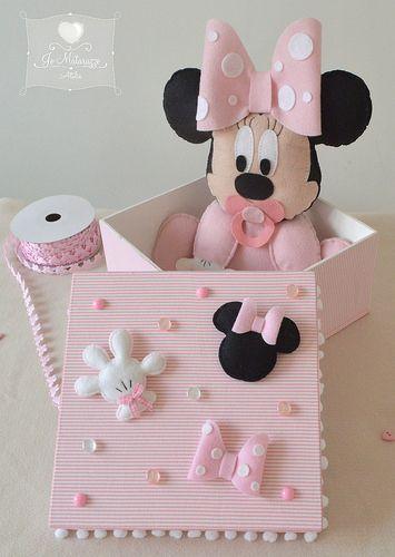 Feltro Minnie Mouse muito fofo