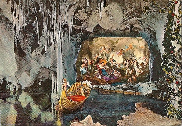 Postcard of the Venus Grotto, Schloß Linderhof