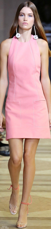 Carolina Herrera Spring 2016 RTW women fashion outfit clothing style apparel @roressclothes closet ideas