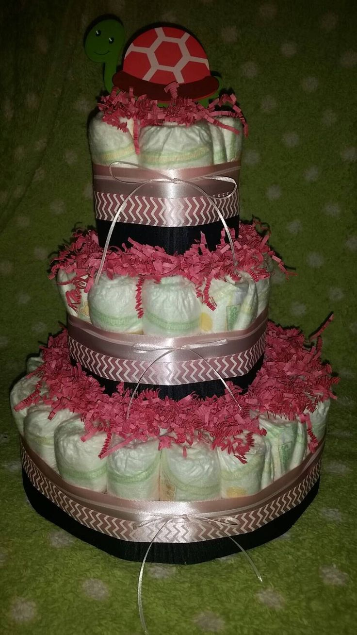 A personal favorite from my Etsy shop https://www.etsy.com/listing/224073542/3-tier-baby-girl-diaper-cake-baby-shower