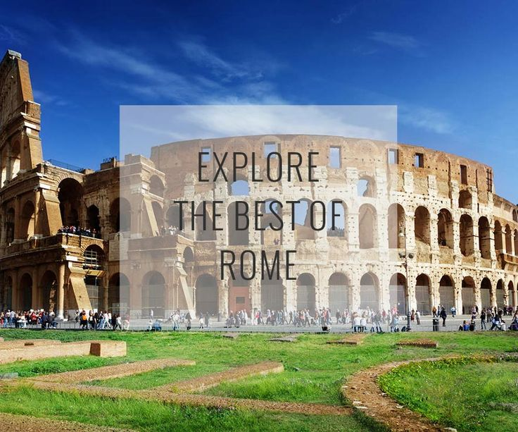 Layered with centuries of Renaissance treasures, Ancient City ruins, Baroque fountains and basilicas, the Eternal city is alive with history.