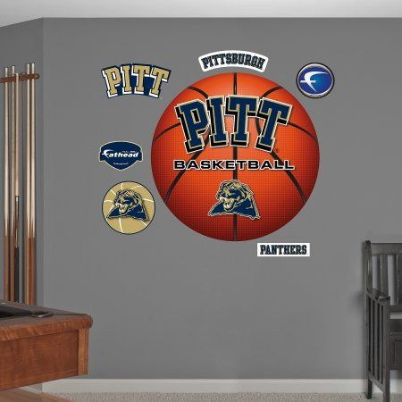 Pitt Basketball Logo, Multicolor
