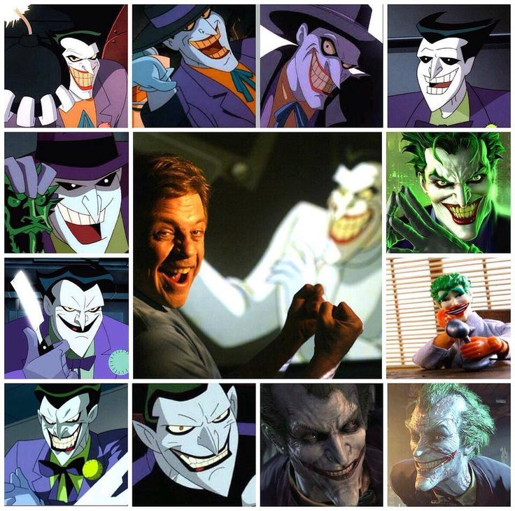 Joker and his voice, Mark Hamill