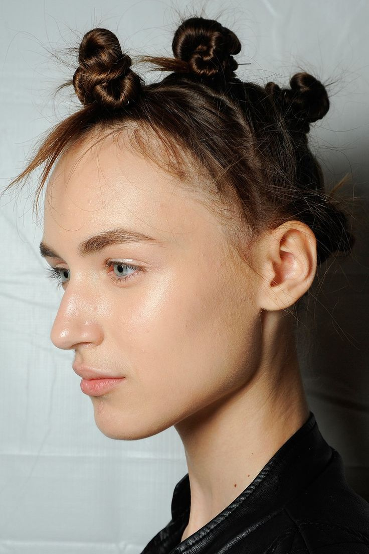 Fashion hairstyles 2015 - Spring 2015 Marc By Marc Jacobs Beauty Looks