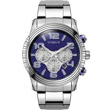 VOGUE California Chronograph Stainless Steel Bracelet 55018.1