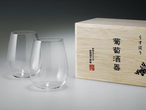 松徳硝子株式会社 | うすはり 葡萄酒器ボルドー