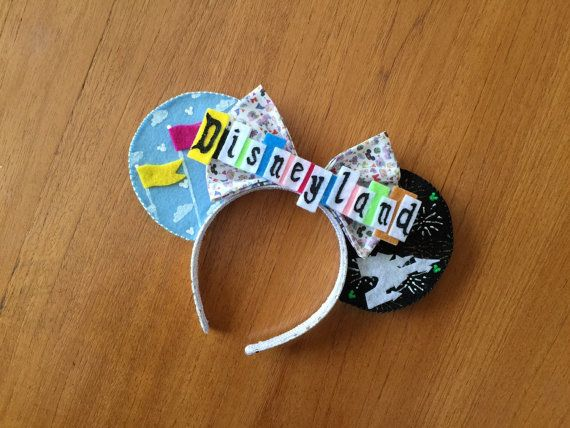 Vintage Disneyland Inspired Minnie Mouse Ears by teilormade