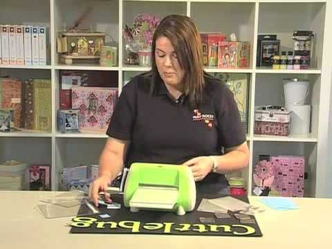 ▶ Scrapbook.TV - How to Use a Cuttlebug - YouTube