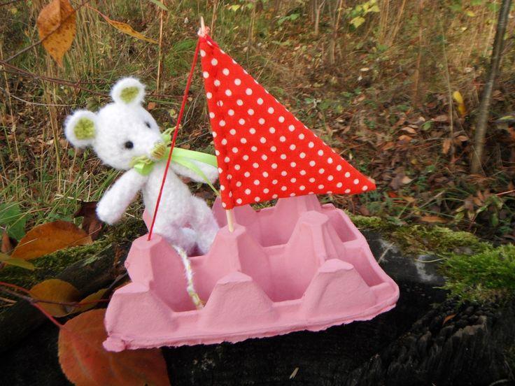 мышонок мышь вязание игрушки амигуруми