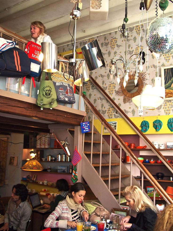 www.latei.net/ Latei (Zeedijk 143, Amsterdam) combines eating and 2nd hand shopping #Amsterdam #shopping