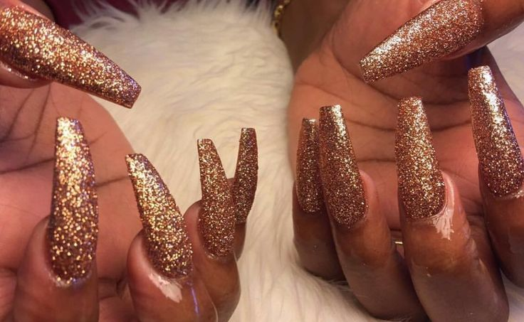 Golden Nails ! Pinterest: Hair,Nails,And Style