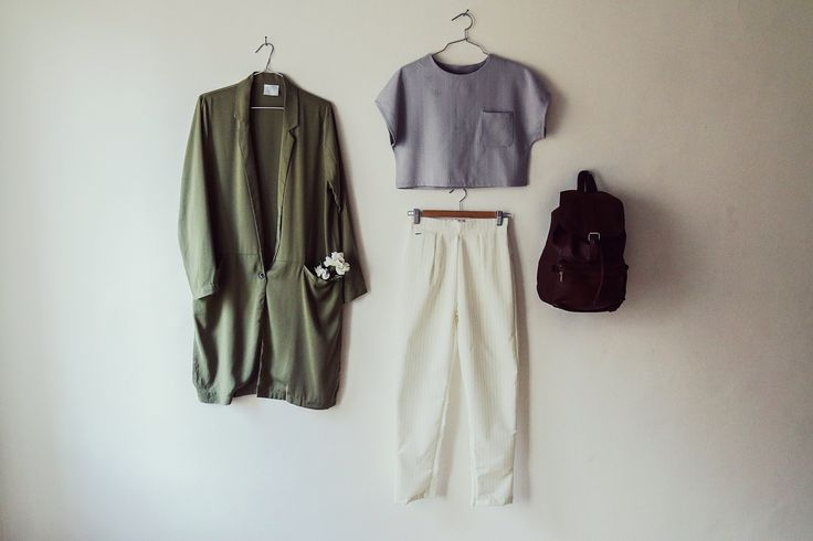 Blouse: http://retrock.com/products/grey-blouse-with-short-trousers  Backpack: http://retrock.com/products/dark-brown-leather-vintage-backpack