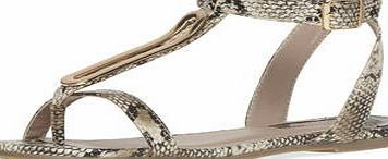 Dorothy Perkins Womens Wide Fit Cream snake print metal sandals- Wide fit cream snake print leather look gold metal trim flat strappy sandals. 100% Polyurethane. http://www.comparestoreprices.co.uk/womens-clothes/dorothy-perkins-womens-wide-fit-cream-snake-print-metal-sandals-.asp