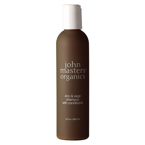 Shampooing 2 en 1 Zinc et Sauge Cheveux Gras