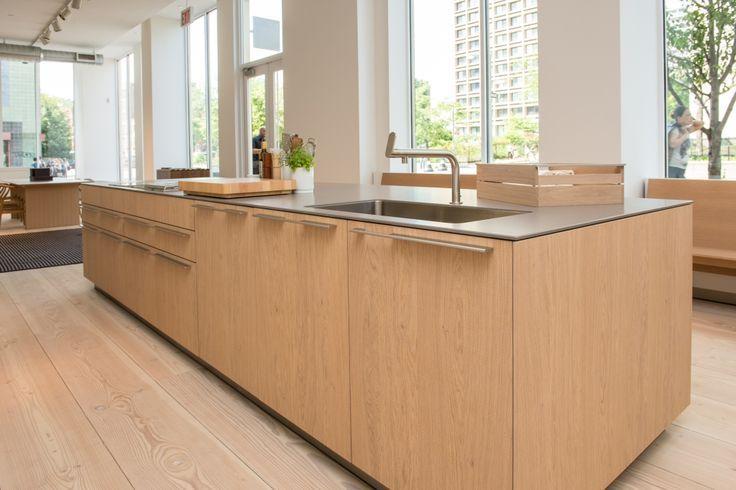 Bulthaup B3 Wood Veneer Island And Stainless Steel Countertop. | Bulthaup  B3 Global | Pinterest | Wood Veneer, Countertop And Woods