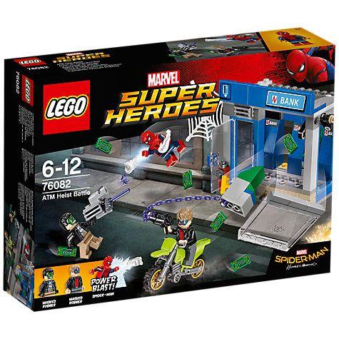 Buy LEGO Marvel Super Heroes 76082 ATM Heist Battle Online at johnlewis.com