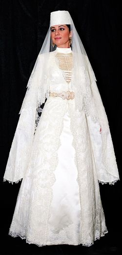 Traditional dress . Caucasus . Kavkaz
