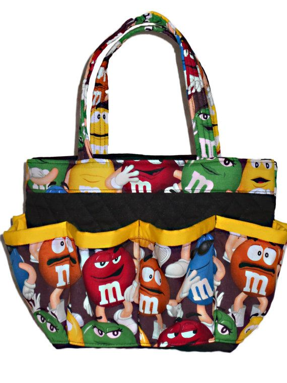 M&M Bingo Bag // 8 Pocket // Great for Craft and by sewtrendyrose
