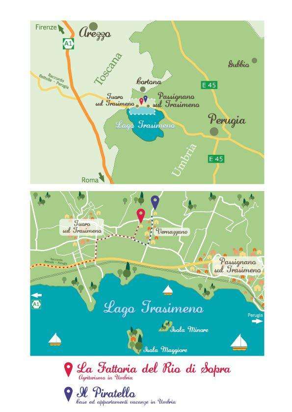 Where we are!!  #lafattoriadelriodisopra #infographic #umbria #agriturismoinumbria