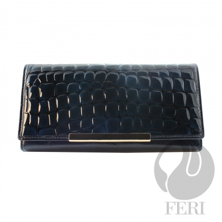 MIDNIGHT HUE WALLET, made in beautiful Italian leather  (click on pic to go to my website)