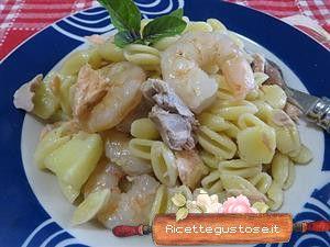 Gnocchetti freddi patate e pesce