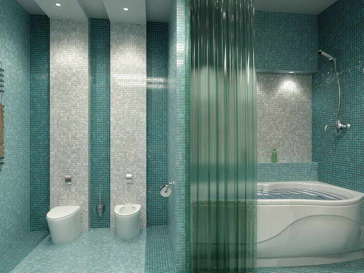 The Best Bathroom Tile Ideas Small Bathroom With Plastic Drapery
