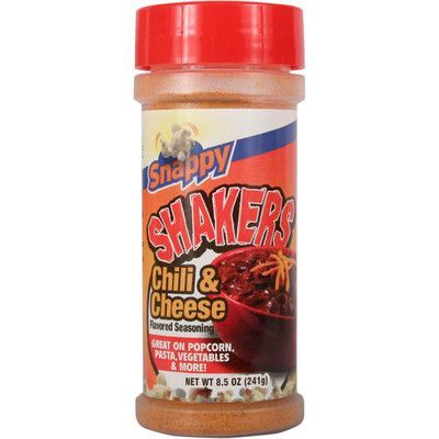Snappy Popcorn 8.5 oz Snappy Shaker Flavour: Chili and Cheese