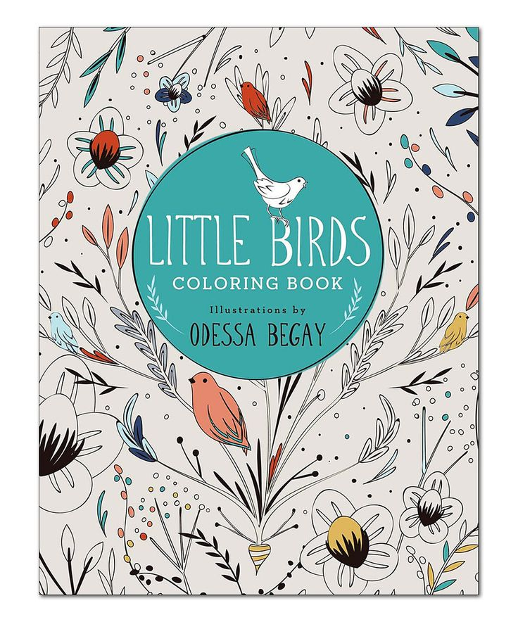 Little Birds Coloring Book By Sterling Zulilyfinds