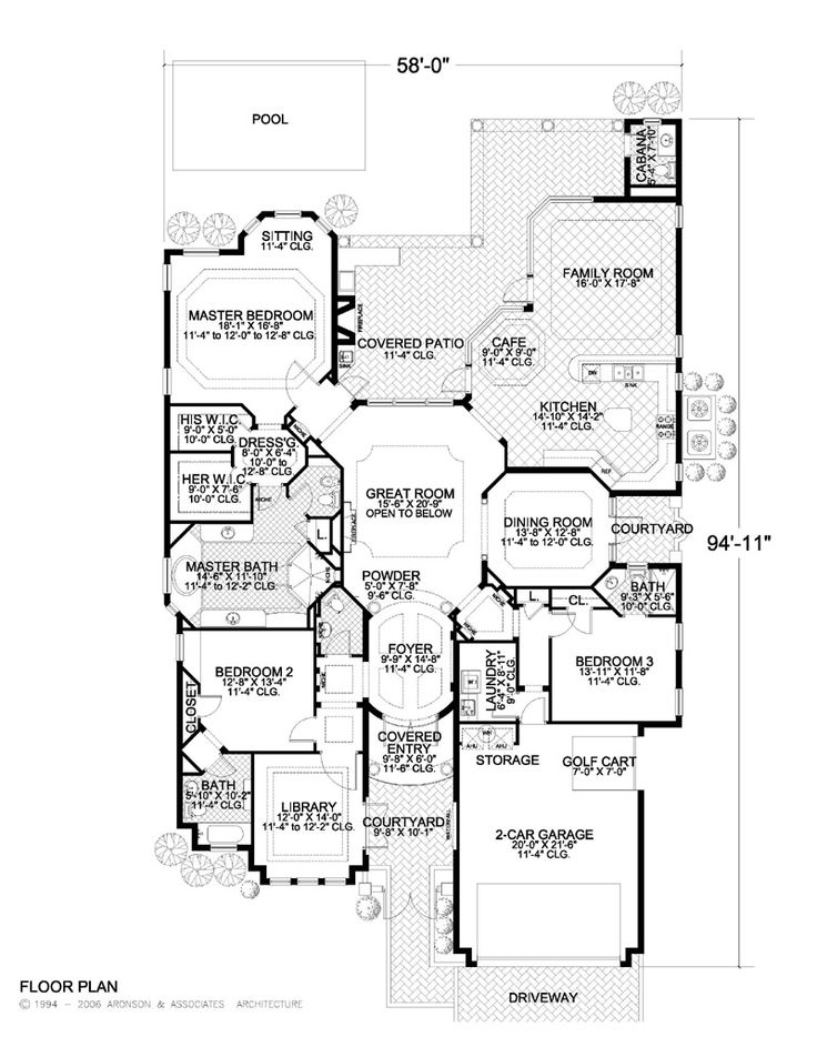 Floor plans for large families click thumbnail image for for Feng shui garage