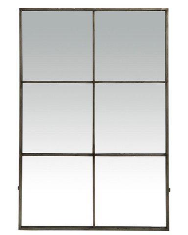 """Six Pane Window Mirror"""
