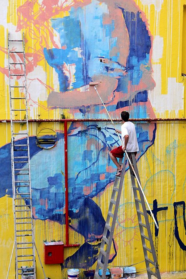 Franco Fasoli is an artist who has a good grasp of what good street art is. It is apparent in his works and the concepts behind them. In this interview I learned about his roots, his inspirations, his evolution and his relationship with the proverbial street. THIS IS FRANCO FASOLI aka JAZ