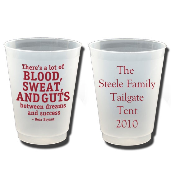cups for tailgating