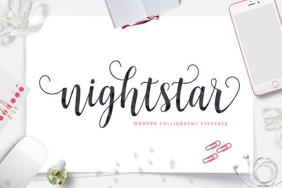 Nightstar Script (40% Off) by Unicode on Creative Market