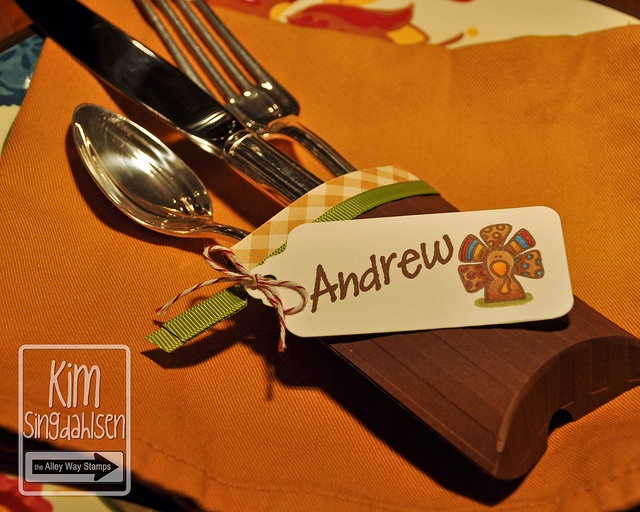 silverware holder by atsamom via flickr