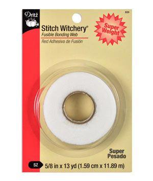 Dritz Stitch Witchery - Fusible Bonding Web - Regular Weight | onlinefabricstore.net