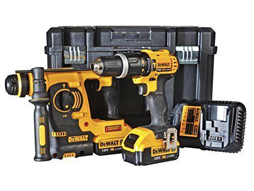Dewalt 18v Combi Drill Plus Hammer Pack Of 2 Dewalt Https Www Amazon Co Uk Dp B015wdkgn0 Ref Cm Sw R Pi Dp U X Nxgcbbnyq0t4m Dewalt Drill Tile Removal